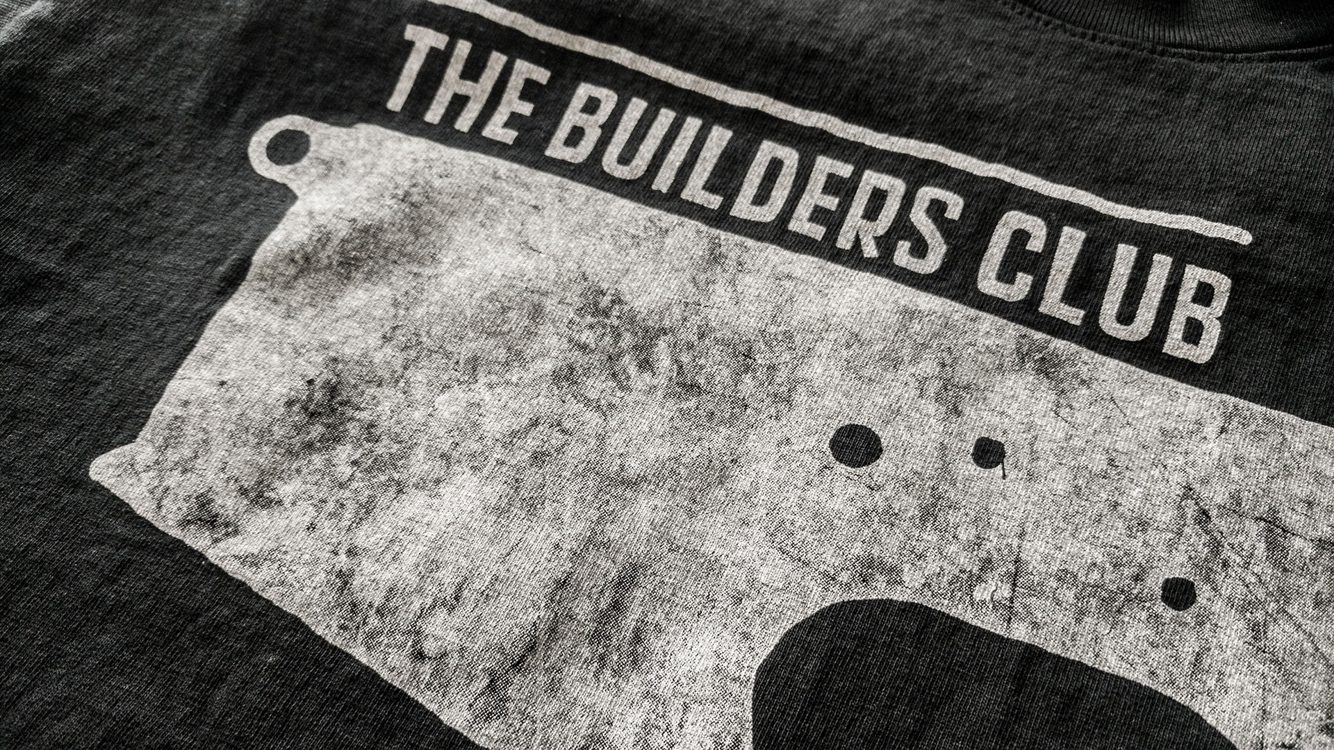 AR-15 Builders Club T-shirt Detail