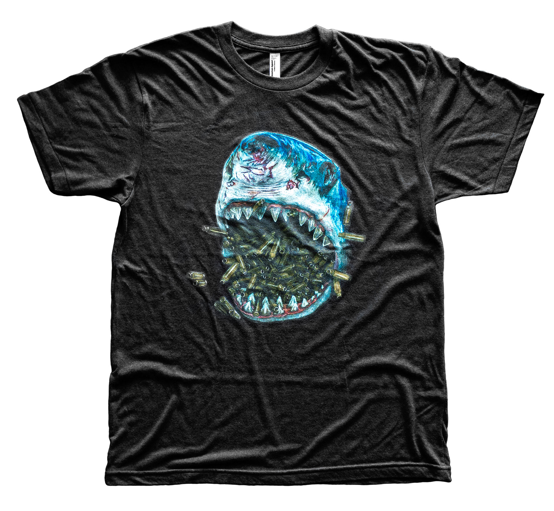 Brass Shark TriBlack T-Shirt