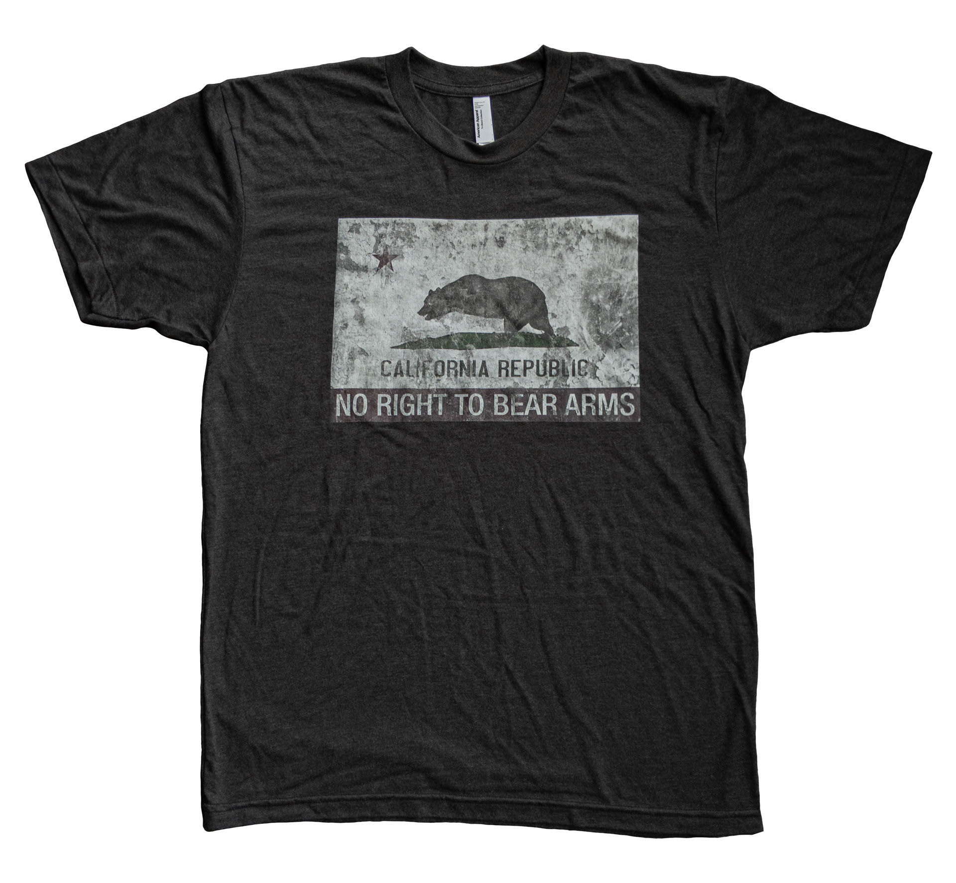 California RKBA No Right To Bear Arms T-Shirt