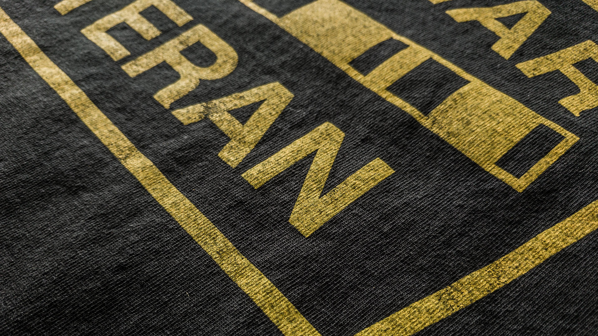 Cyber War Veteran T-Shirt Detail