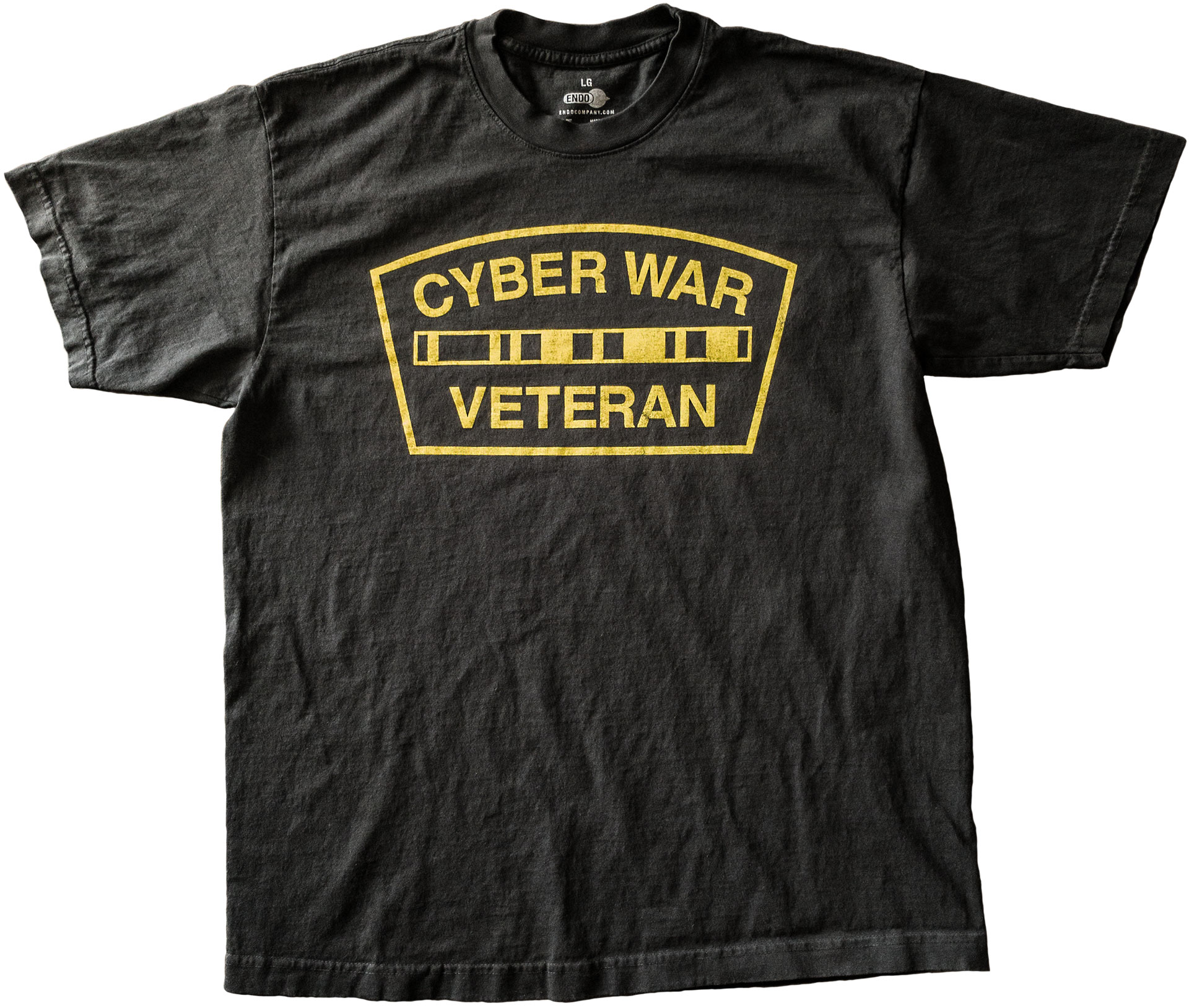 Cyber War Veteran T-Shirt