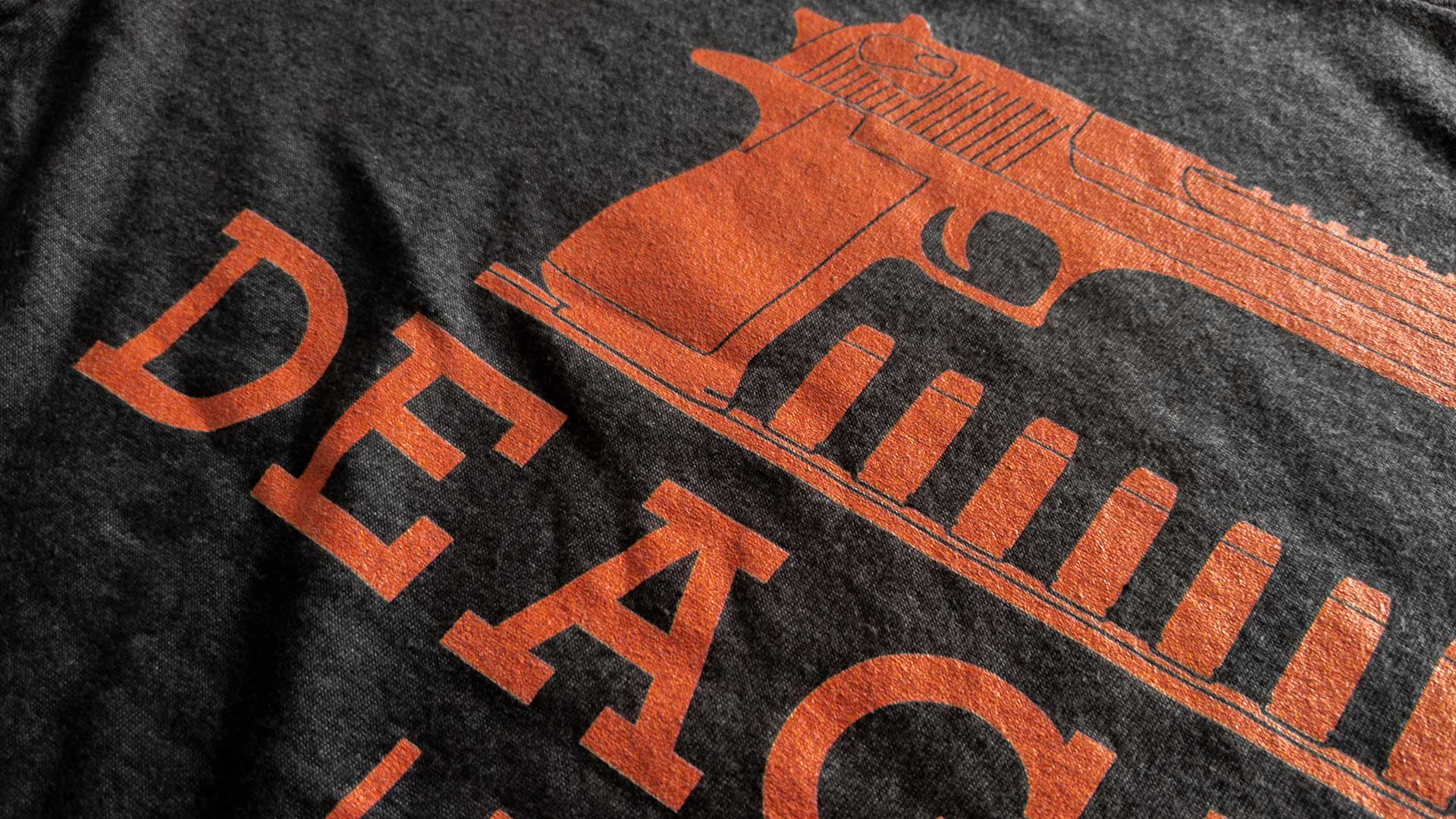 Deagle T-Shirt Detail 1