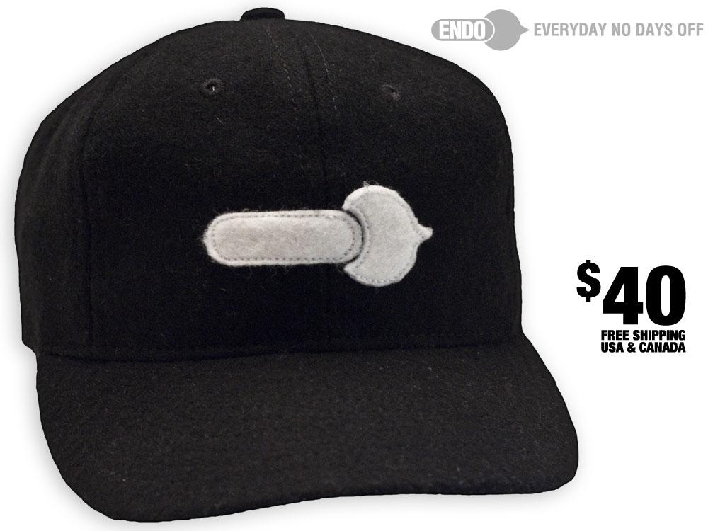 Ebbets Field x ENDO Logo Hat – ENDO Apparel 689b48269ee