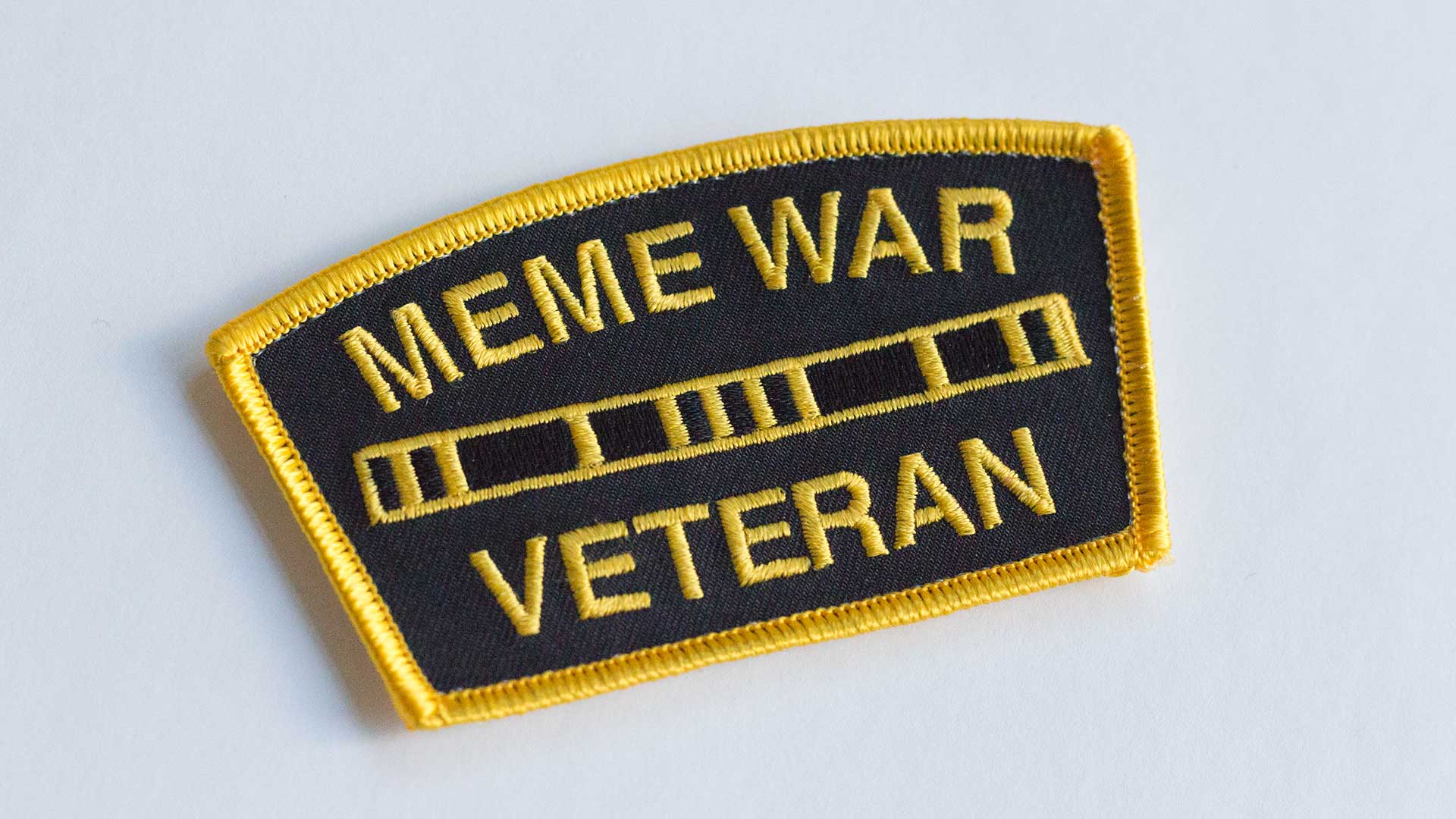 Meme War Veteran Morale Patch Detail 1