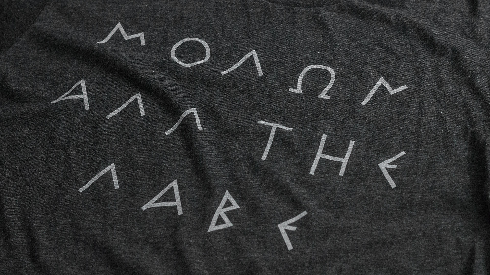 Molon All The Labe T-Shirt Detail 2