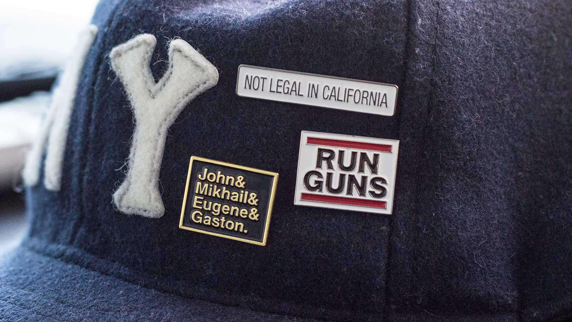 2nd Amendment Pin Pack Detail 1