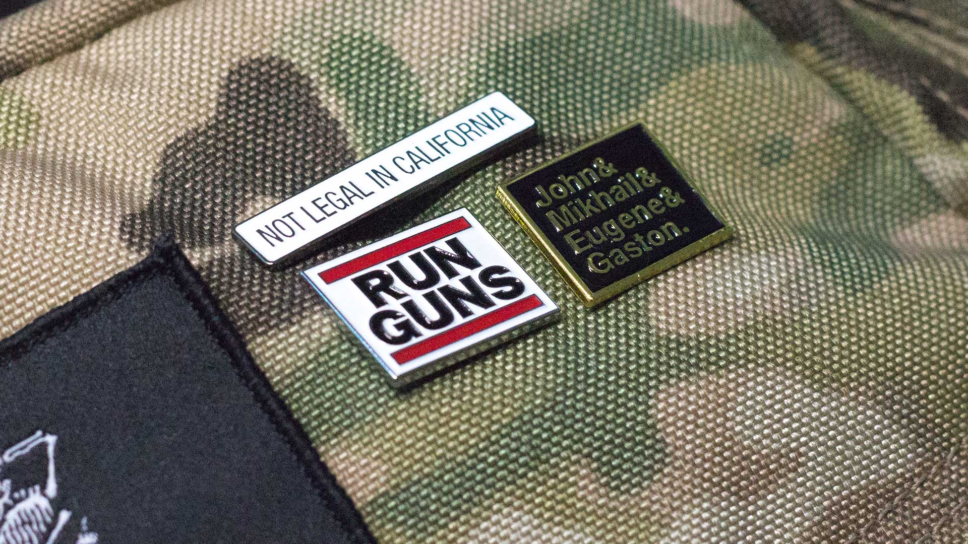 2nd Amendment Pin Pack Detail 2