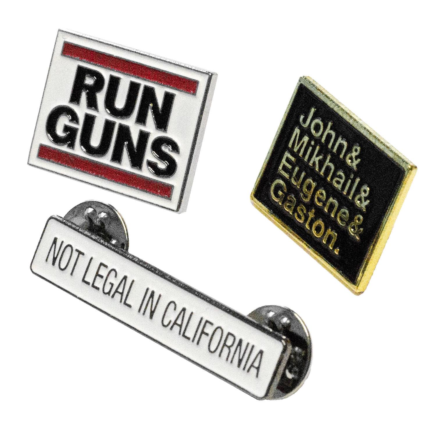 2nd Amendment Pin Pack