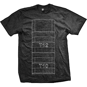 AR-15 Picatinny Rail T-Shirt (TriBlack))