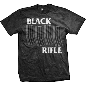 AR-15 Black Rifle T-Shirt (TriBlack)