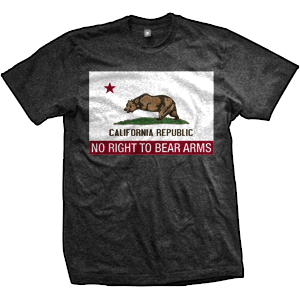 California Flag RKBA Infringed T-Shirt (Non Distressed)