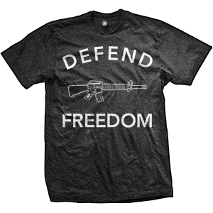 Defend Freedom AR-15 T-Shirt