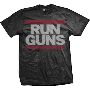 Run Guns Project Gunrunner T-Shirt (TriBlack)