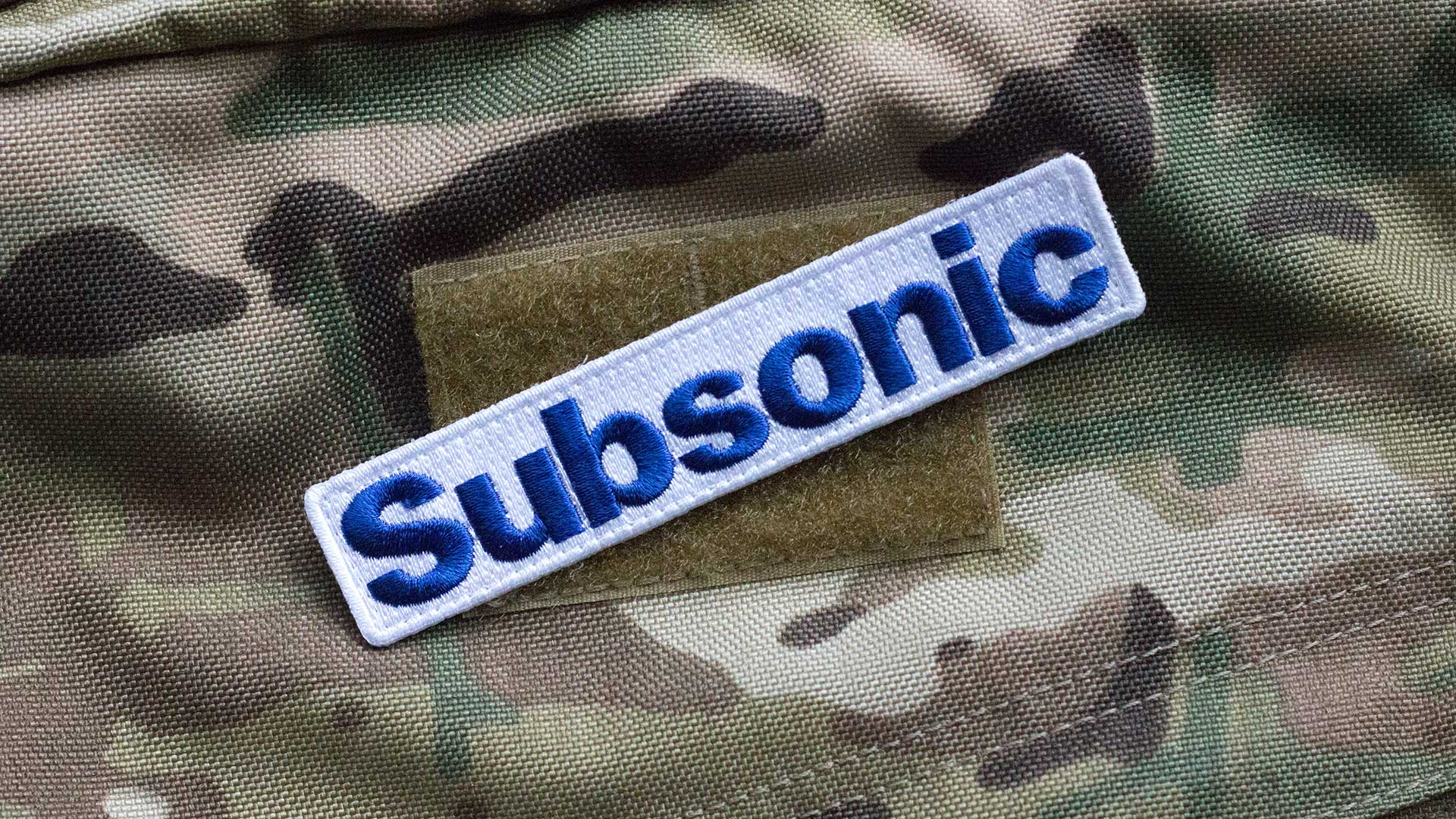 Subsonic Morale Patch Detail 2